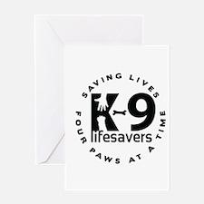 Unique Lifesaver Greeting Card