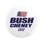 "Bush Cheney 3.5"" Button (100 pack)"