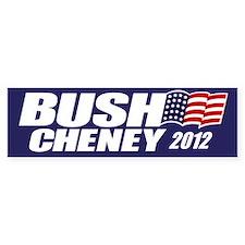 Bush Cheney Bumper Bumper Sticker