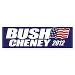 Bush Cheney Bumper Sticker