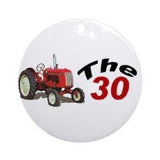 Unique Tractors vintage Ornament (Round)