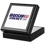 Bush Cheney Keepsake Box