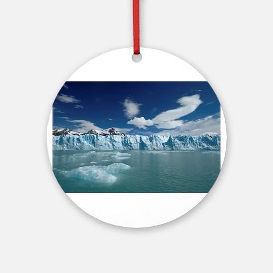Glaciers Ornament (Round)
