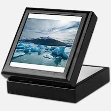 Glaciers II Keepsake Box