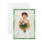 Child Angel 1 Greeting Cards (Pk of 20)