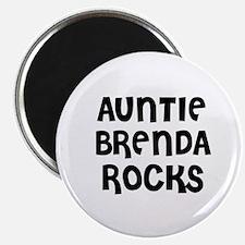 AUNTIE BRENDA ROCKS Magnet
