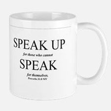 Speak Up Mug