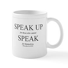 Speak Up Mug