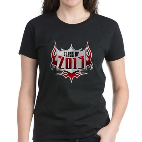 Class of 13 Flames Women's Dark T-Shirt