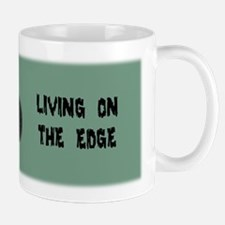 Armadillo Living on the Edge Mug