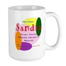 SANDRA Name Mug (15 oz)