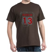 Clas of 13 Barbed Wire T-Shirt