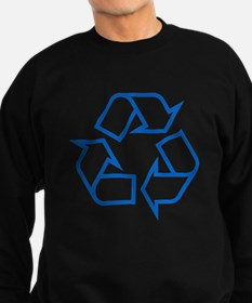 Blue Recycle Sweatshirt