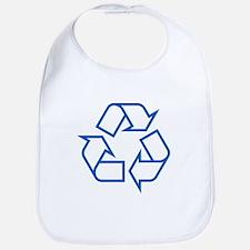 Blue Recycle Bib