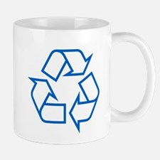 Blue Recycle Mug