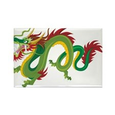 Dragon Rectangle Magnet (100 pack)