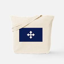 Bottony Blue Tote Bag
