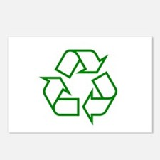 Green Recycle Postcards (Package of 8)