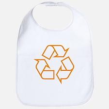 Orange Recycle Bib