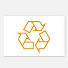 Orange Recycle Postcards (Package of 8)
