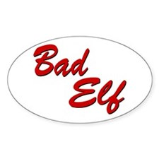 Bad Elf Oval Decal