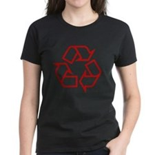 Red Recycle Tee