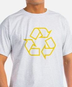Yellow Recycle T-Shirt