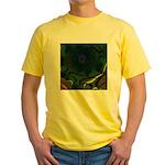 Japan Fractal Yellow T-Shirt