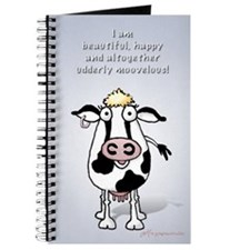 Beautiful, happy cow Journal