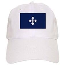 Bottony Blue Baseball Cap