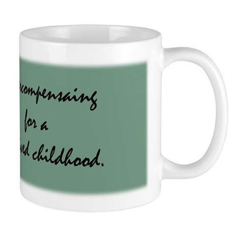 Skunk Overcompensating Mug