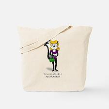 Skunk Overcompensating Tote Bag