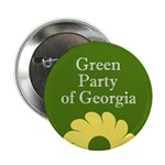Georgia Green Party activist button