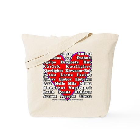 Love Languages Tote Bag