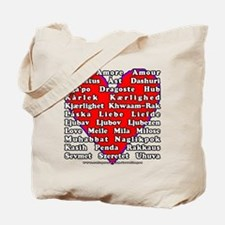 Love Languages Tote Bag