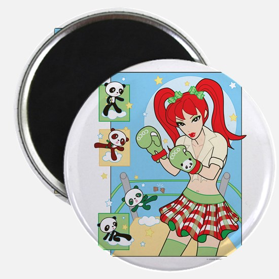 Coco in the Box Ring Magnet