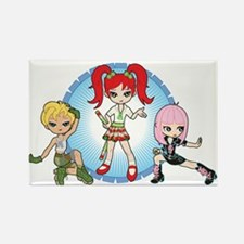 Lil' Sisters Trio Rectangle Magnet