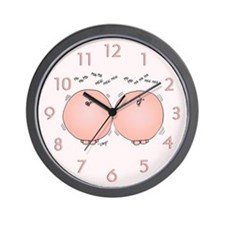 Pigs' Tails Wall Clock