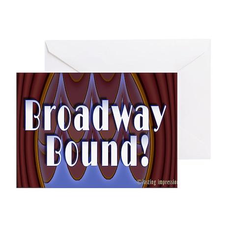 Broadway Bound! Greeting Cards (Pk of 10)