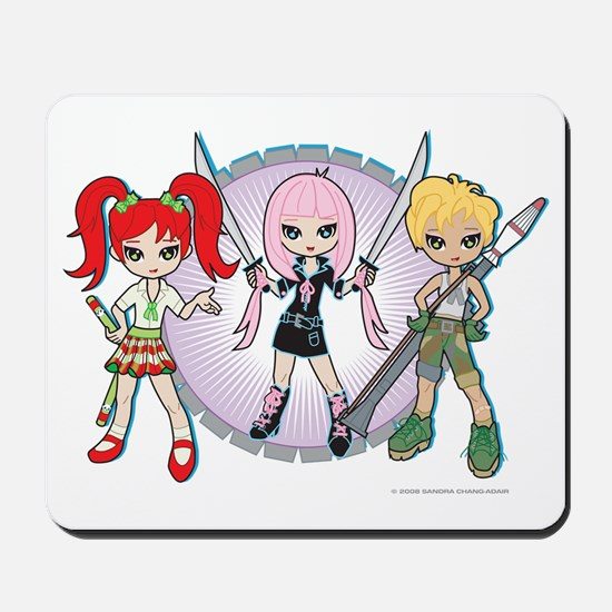 Lil' Sis and Weapons Mousepad