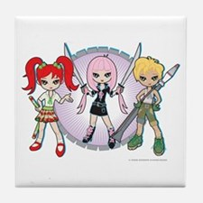 Lil' Sis and Weapons Tile Coaster