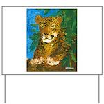 Leopard Tree Yard Sign
