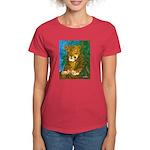 Leopard Tree Women's Dark T-Shirt