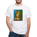 Leopard Tree White T-Shirt