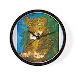 Leopard Tree Wall Clock