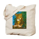 Leopard Tree Tote Bag