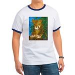 Leopard Tree Ringer T