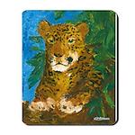 Leopard Tree Mousepad