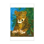 Leopard Tree Mini Poster Print
