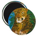 Leopard Tree Magnet